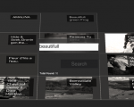 Experimental flickr photo viewer