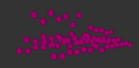 Music visualisation example